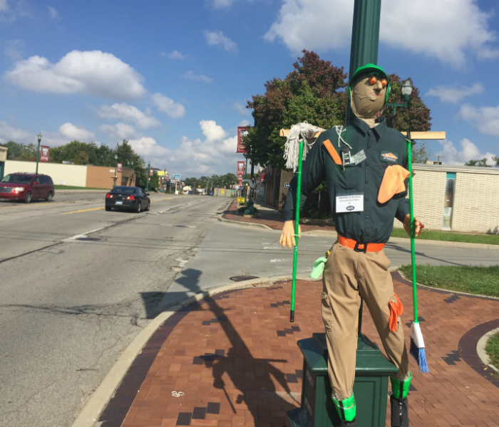 Community Westland SERVPRO Takes Part in 2016 Scare Crow Contest