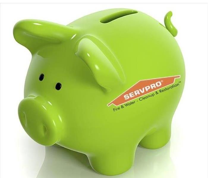 General SERVPRO now offers Financing to help cover the costs of our Emergency Services