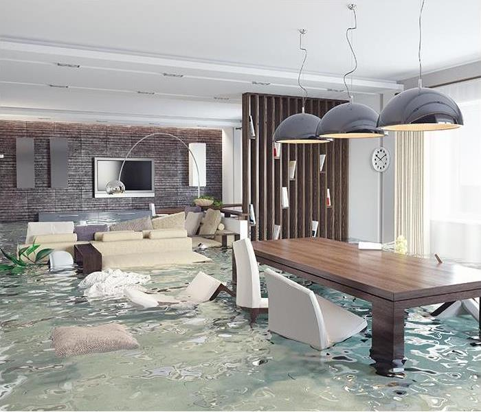 Water Damage When Water Damage Happens, Call SERVPRO for Service